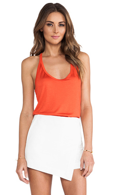 Trina Turk Cullen Tank in Orange