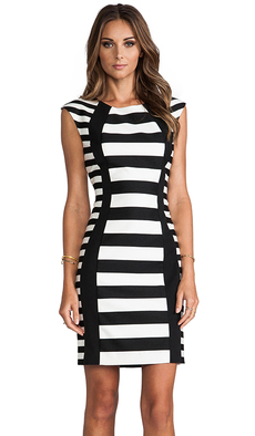 Trina Turk Phlox Dress in Black
