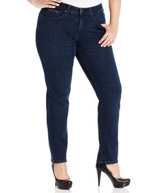 Levi's® Plus Size 512 Perfectly Shaping Skinny Jeans, Dark Celestial Wash