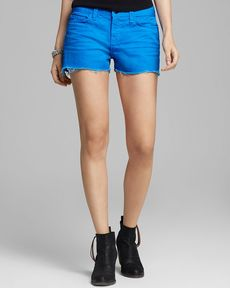 J Brand Shorts - Low Rise Cutoff in Breakwater