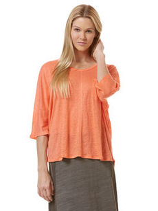 linen one pocket dolman top