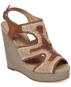 Lucky Brand Riverr Platform Wedge Sandals