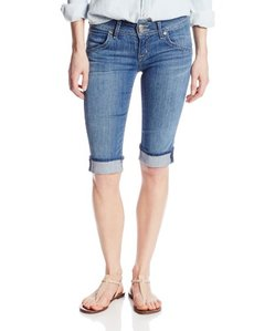 Hudson Jeans Women's Palerme Knee Short In Tribute
