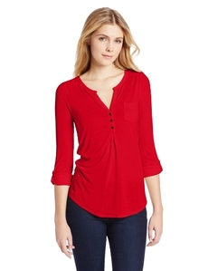 Lucky Brand Women's Dallas Pocket Top