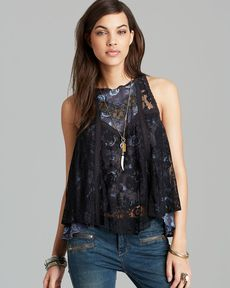 Free People Top - Miss Mackenzie