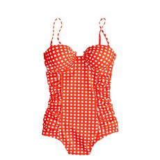 Grid dot underwire tank