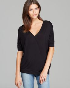 JET Top - Cross Front Slit Jersey