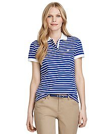 Golden Fleece® Performance Slim Fit Stripe Polo