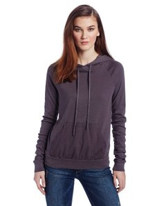 Three Dots Women's Long-Sleeve Hoodie Sweatshirt