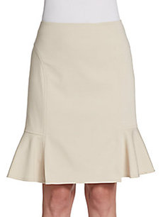 Akris Punto Flounce Pencil Skirt