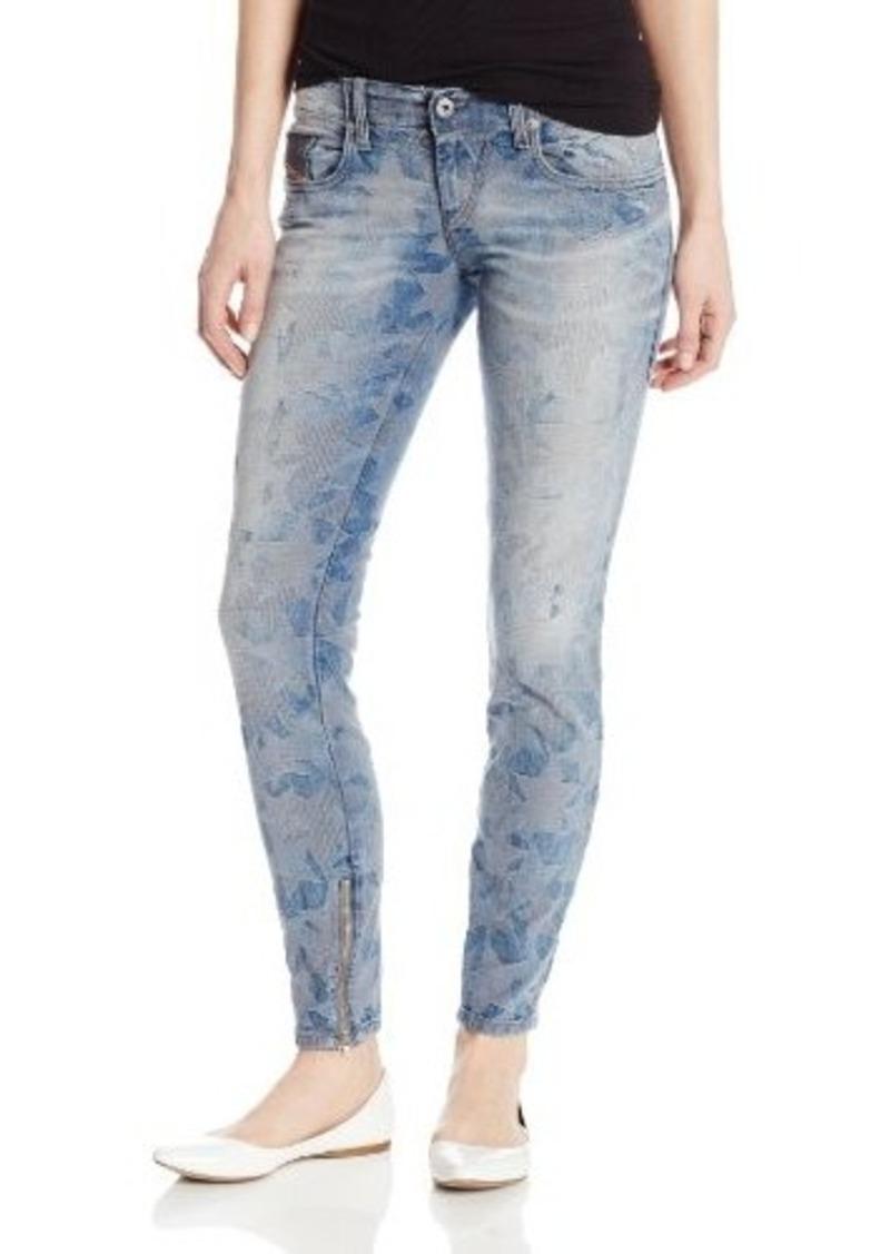 Diesel Women's Grupee-Zip Super Slim Skinny Leg Jean 0606M