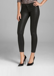 J Brand Jeans - 620 Mid Rise Super Skinny in Lacquered Black Quartz