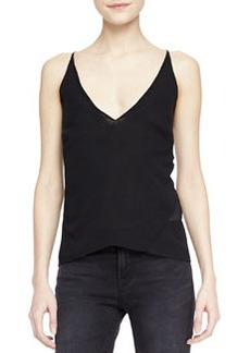 J Brand Ready to Wear Lucy Sheer-Back Camisole