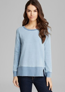 Splendid Sweatshirt - Indigo Dye French Terry