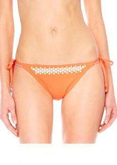 MICHAEL Michael Kors Studded Tie-Side Swim Bottom