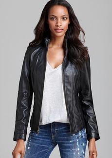 Marc New York Leather Jacket - Vanity