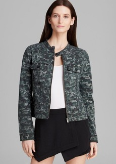 Sanctuary Camo Print Moto Jacket