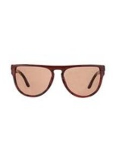 Stella McCartney Two-Tone Flat Top Sunglasses