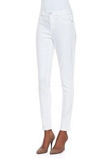 Elie Tahari Selena Skinny Cropped Jeans, White