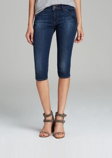 True Religion Jeans - Tawny Skinny Crop in Brisk Walk