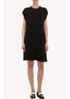 3.1 Phillip Lim Sleeveless Dress with Beaded Blouse
