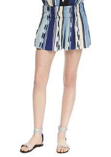 Ella Moss Ocean Striped Pull-On Shorts