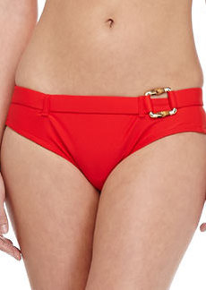 Shoshanna Belted Hipster Swim Bottom