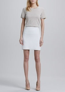 Theory Holleen Ridged Pencil Skirt
