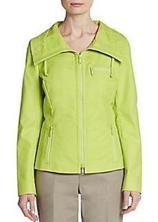 Lafayette 148 New York Zip Jacket