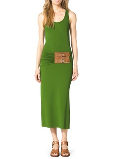 Michael Kors Belted Jersey Tank Dress