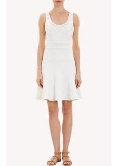 "Diane von Furstenberg Mixed Rib-Knit Sleeveless ""Perry"" Dress"