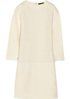 Tibi Paneled matelassé dress