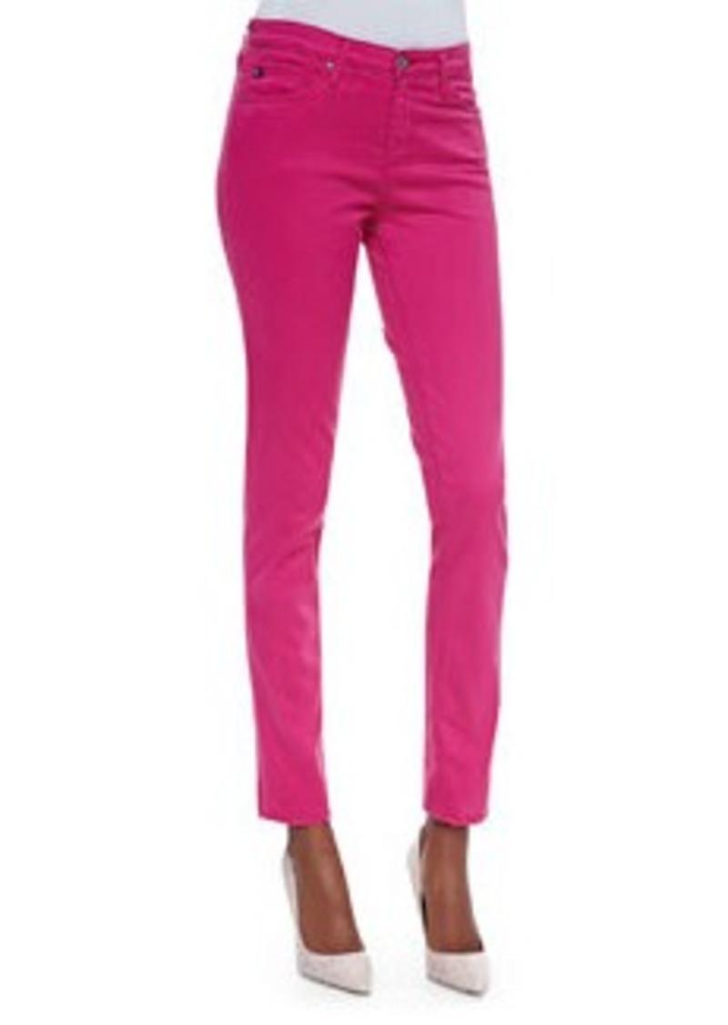 Prima Mid-Rise Cigarette Jeans, Magenta   Prima Mid-Rise Cigarette Jeans, Magenta