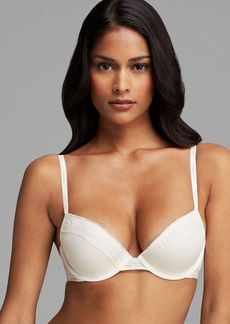 Calvin Klein Underwear Bra - Modern Signature Flirty Molded Push Up #F3777