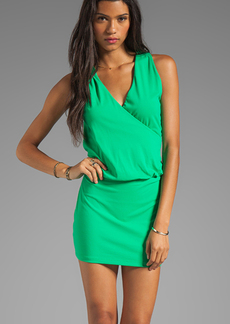 "Susana Monaco Light Supplex Jana 17"" Dress in Green"