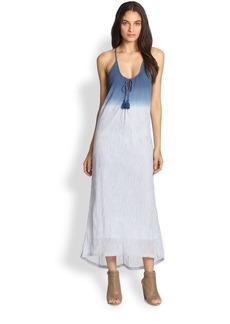 Soft Joie Rees Dip-Dyed Cotton Gauze Maxi Dress