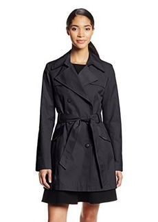 Via Spiga Women's Double-Breasted Belted Trench Coat