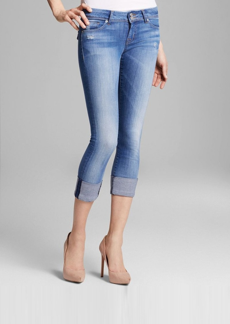 Hudson Jeans - Ginny Crop Straight Cuffed in Voodoo Child