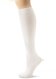 HUE Women's Flat Knit Knee Socks