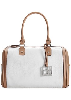Calvin Klein Mother's Day Logo Embossed Satchel
