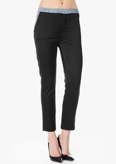 Chino Pant in Silky Black