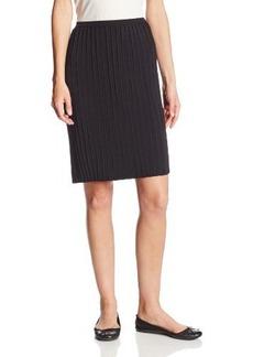 Calvin Klein Women's Pleated Sweater Skirt