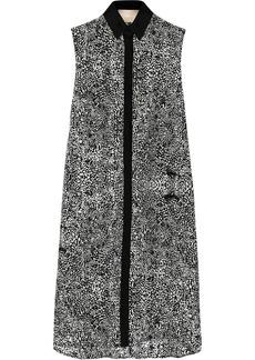 Jason Wu Printed silk-chiffon dress