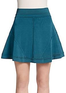 Robert Rodriguez Techno Light Flared Skirt