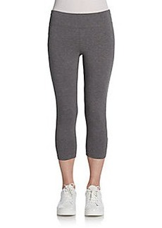 MARC NEW YORK by ANDREW MARC Performance Cropped Stretch-Cotton Leggings