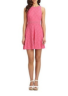 Laundry by Shelli Segal Lace Racerback Dress