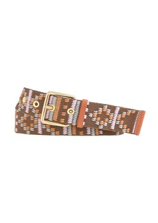 Pattern stitch belt