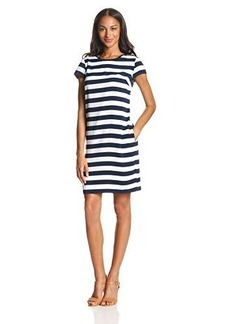 Jones New York Women's Ribbon Trimmed T-Dress