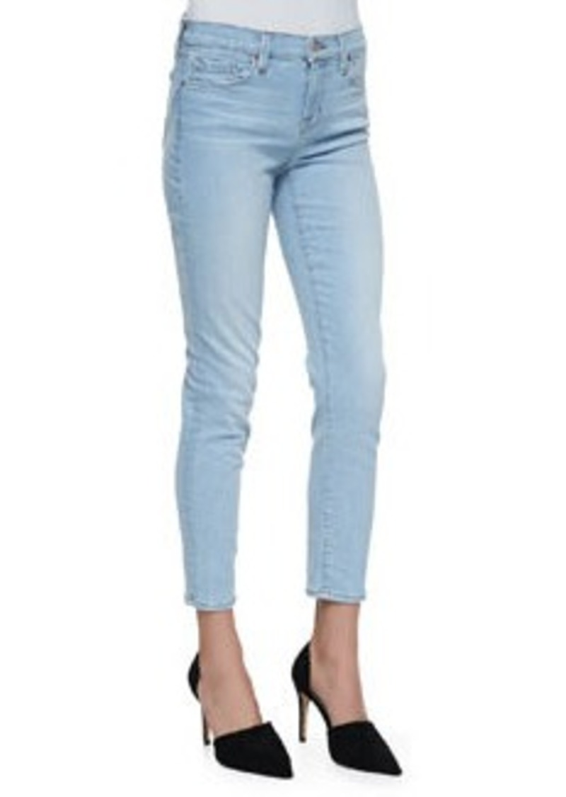 Mid-Rise Capri Jeans, Even Tide   Mid-Rise Capri Jeans, Even Tide