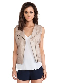 Sanctuary Mel Vest in Tan